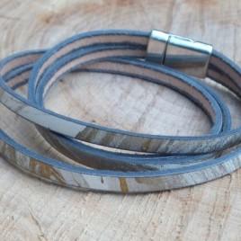 Armband zilvergoud
