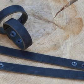 Armband smal zwart