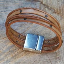 Armband twee op een rij