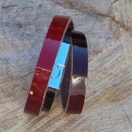 Armband rood zwart