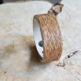 semms armband harig bruin
