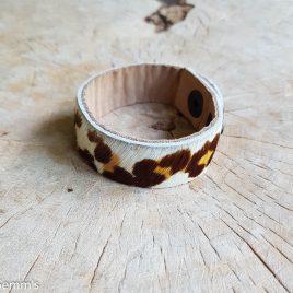 semms armband luipaard