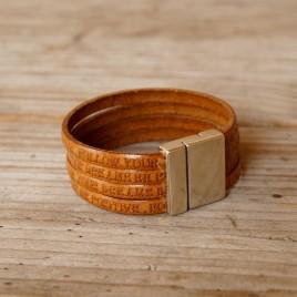 Armband met tekst