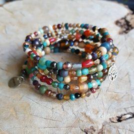 semms gekleurde kralenarmband