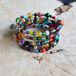 semms zomerse armband kralenmix