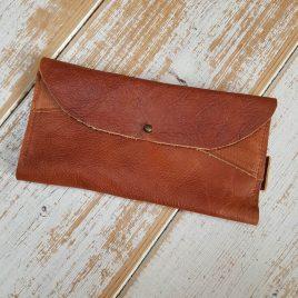 semms cognackleurige portemonnee