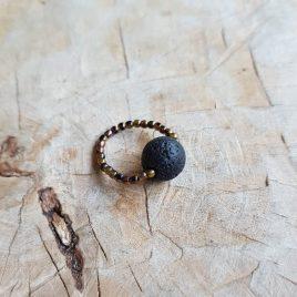 semms ring met lavakraal