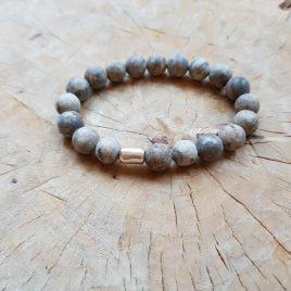 kralenarmband natuursteen