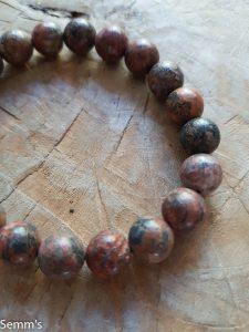 natuurstenen kralenarmband