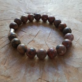 Armband natuurstenen kralen