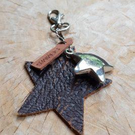 sleutelhanger met ster