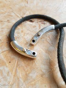 magneetsluiting leren armband