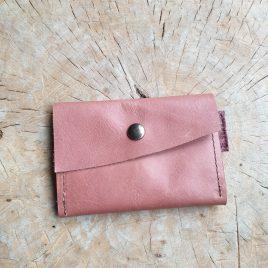Leren portemonneetje | leren pasjeshouder